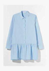 Bershka - Robe chemise - light blue - 4