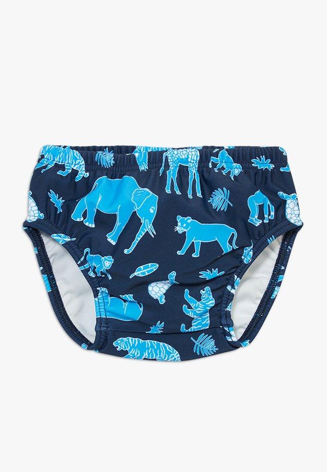 SWIM DIAPER BABY - Swimming briefs - blue