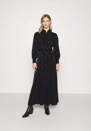 JOLANDA DRESS - Shirt dress - schwarz