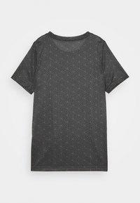 Nike Performance - DRY TEE SOCCER - Print T-shirt - iron grey/black - 1