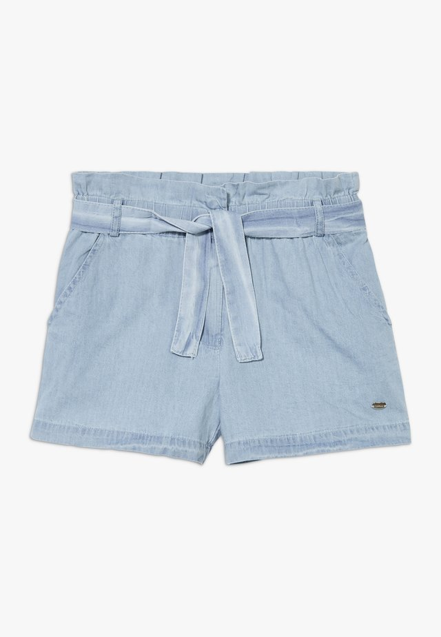CORINE - Denim shorts - denim light indigo wash