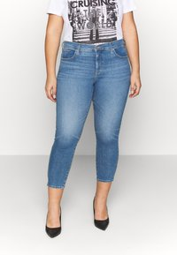 Levi's® Plus - 311 SKINNY ANKLE ZIP - Skinny-Farkut - new york blue plus - 0