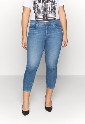 311 SKINNY ANKLE ZIP - Jeansy Skinny Fit - new york blue plus