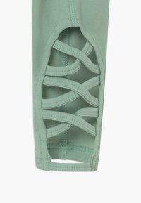 South Beach - GIRLS CUT OUT LEGGINGS - Leggings - sage green - 3