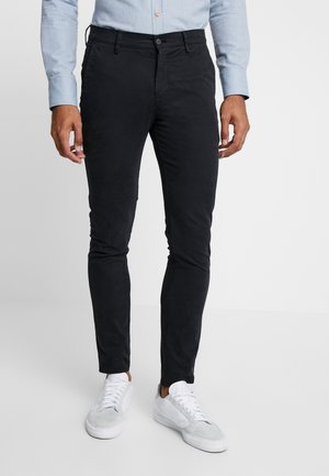 JOE - Trousers - black