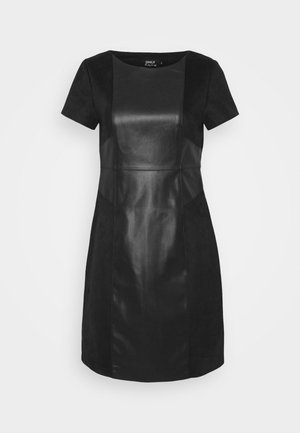 ONLELISA MIX DRESS - Kjole - black