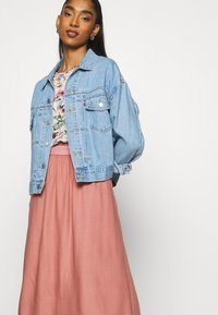 ONLY - Pleated skirt - ash rose - 3