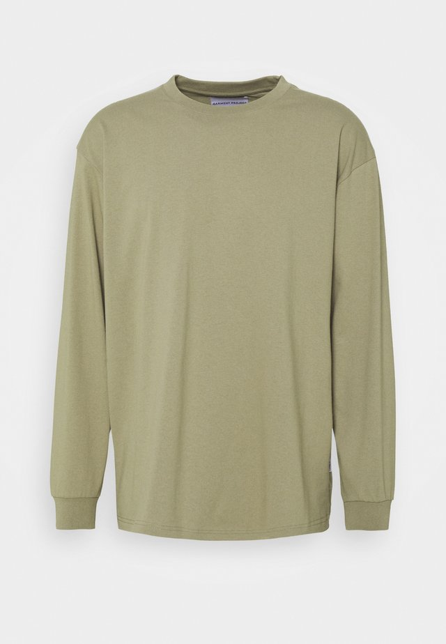 TEE  - Long sleeved top - taupe