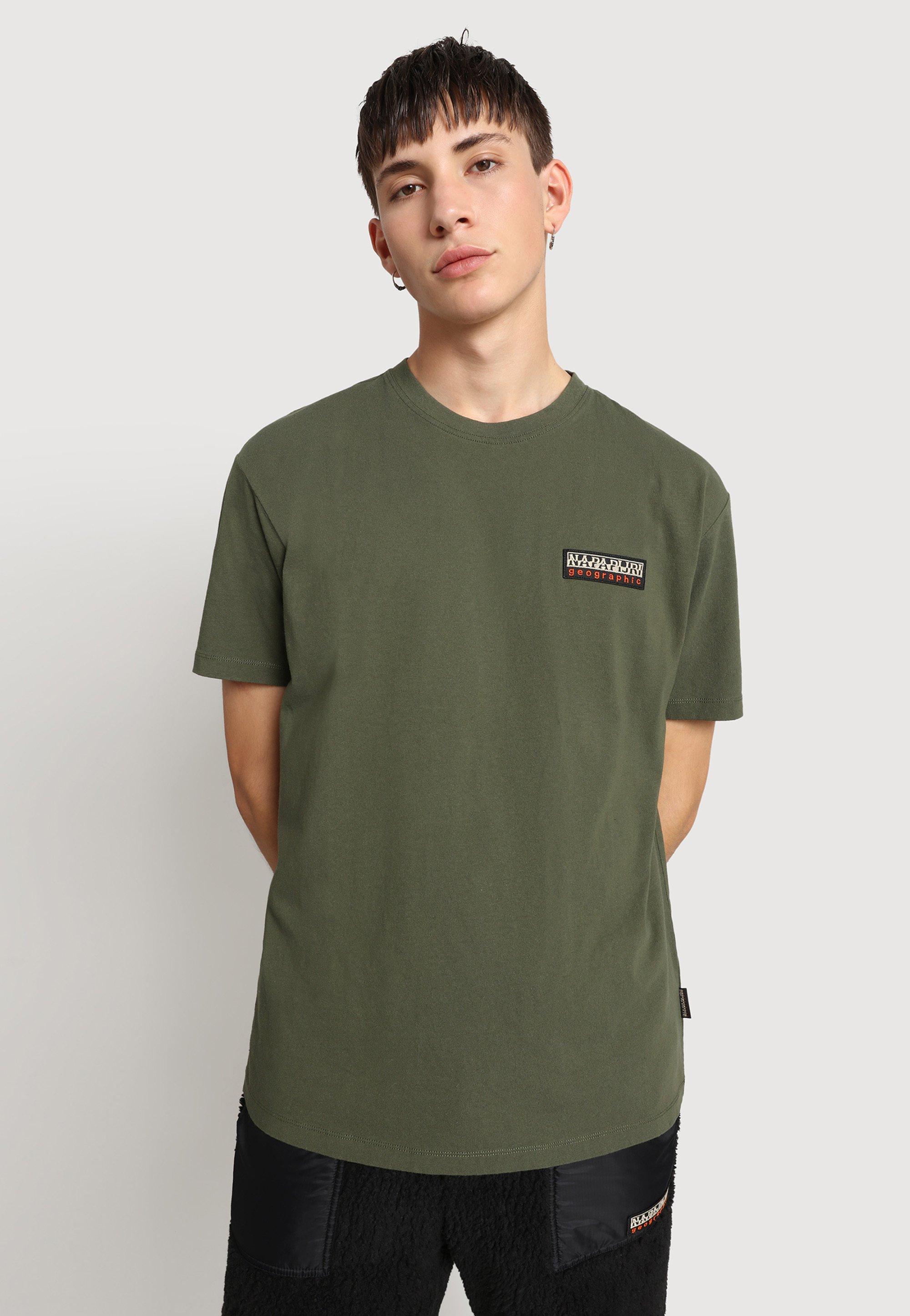 Herrer S-PATCH - T-shirts basic