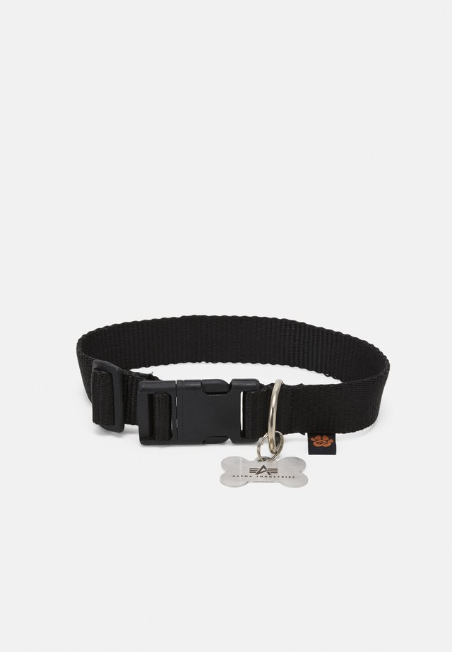 BASIC DOG TAG COLLAR UNISEX - Other accessories - black