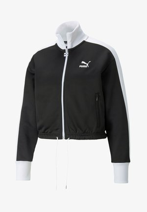 Zip-up sweatshirt - puma black