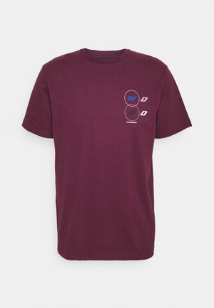 BOSE PASS TEE - T-shirt con stampa - bordeaux