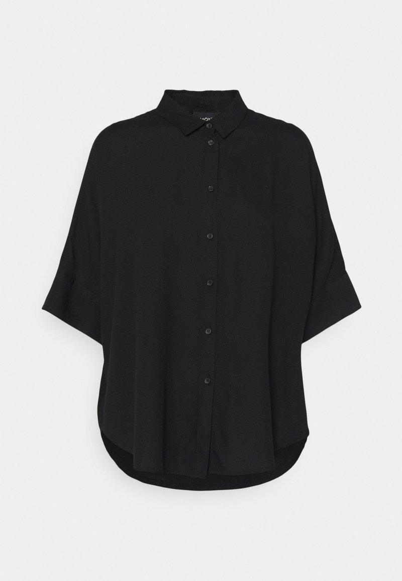 Monki - Camisa - black dark