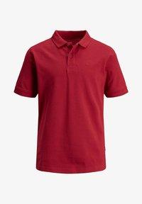 Jack & Jones Junior - EINFARBIGES JUNIOR - Polo shirt - rio red - 0