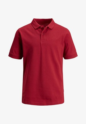 EINFARBIGES JUNIOR - Polo shirt - rio red