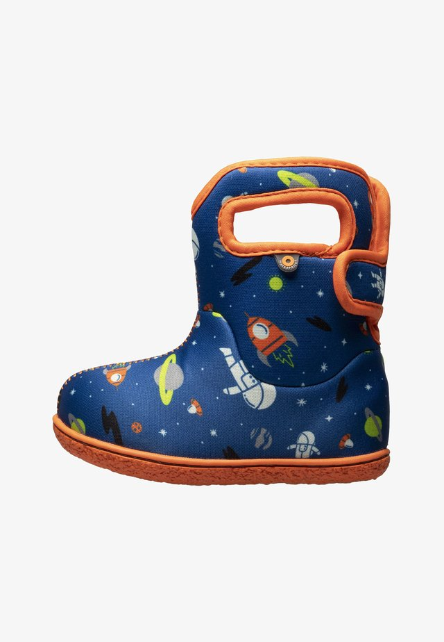 SPACE MAN  - Snowboots  - blue multi