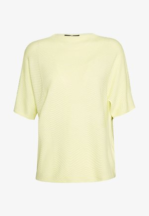 TINNUR - Camiseta estampada - soft lime
