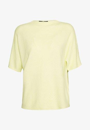 TINNUR - Print T-shirt - soft lime