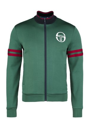 FLAKE MONTE-CARLO STAFF  - Zip-up hoodie - evergreen / navy