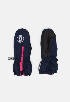 KIDS TROLL MITTEN UNISEX - Rękawiczki z jednym palcem - navy/magenta