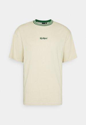 T-shirts med print - beige