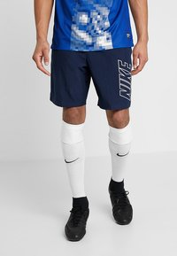 Nike Performance - DRY ACADEMY SHORT - Pantalón corto de deporte - obsidian/white - 0