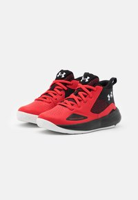 Under Armour - LOCKDOWN 5 UNISEX - Basketball shoes - versa red - 1