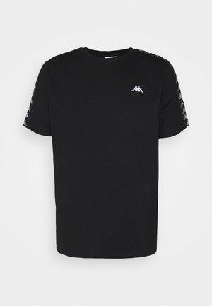 JANNO - T-shirt print - caviar