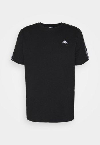 JANNO - T-shirt con stampa - caviar