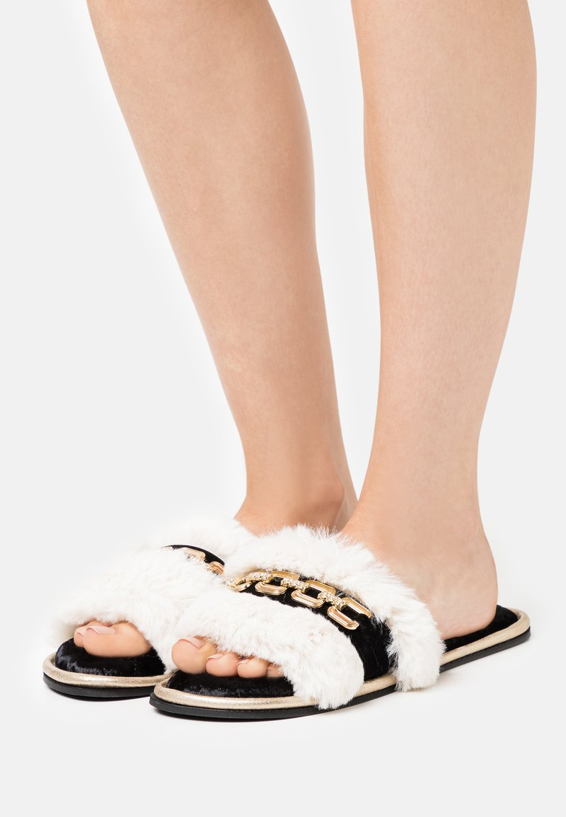 River Island - Pantoffels - offwhite