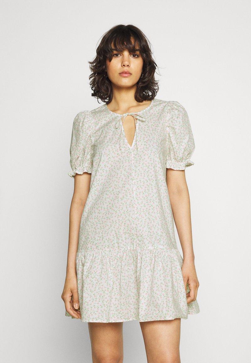 Monki - SELMA DRESS - Day dress - white