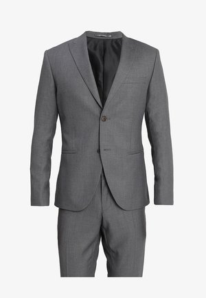 FASHION SUIT - Oblek - mid grey