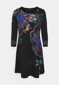 Desigual - WASHINTONG - Vestito estivo - black - 4