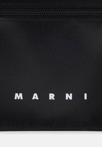 Marni - TRIBECA POUCH UNISEX - Across body bag - black/royal - 5