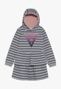 Guess - TODDLER HOODED ACTIVE - Denní šaty - melange grey - 0