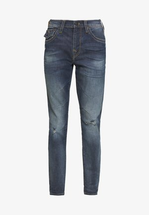 NEW GENO - Jeansy Slim Fit - blue denim
