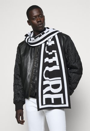 UNISEX - Scarf - black/white