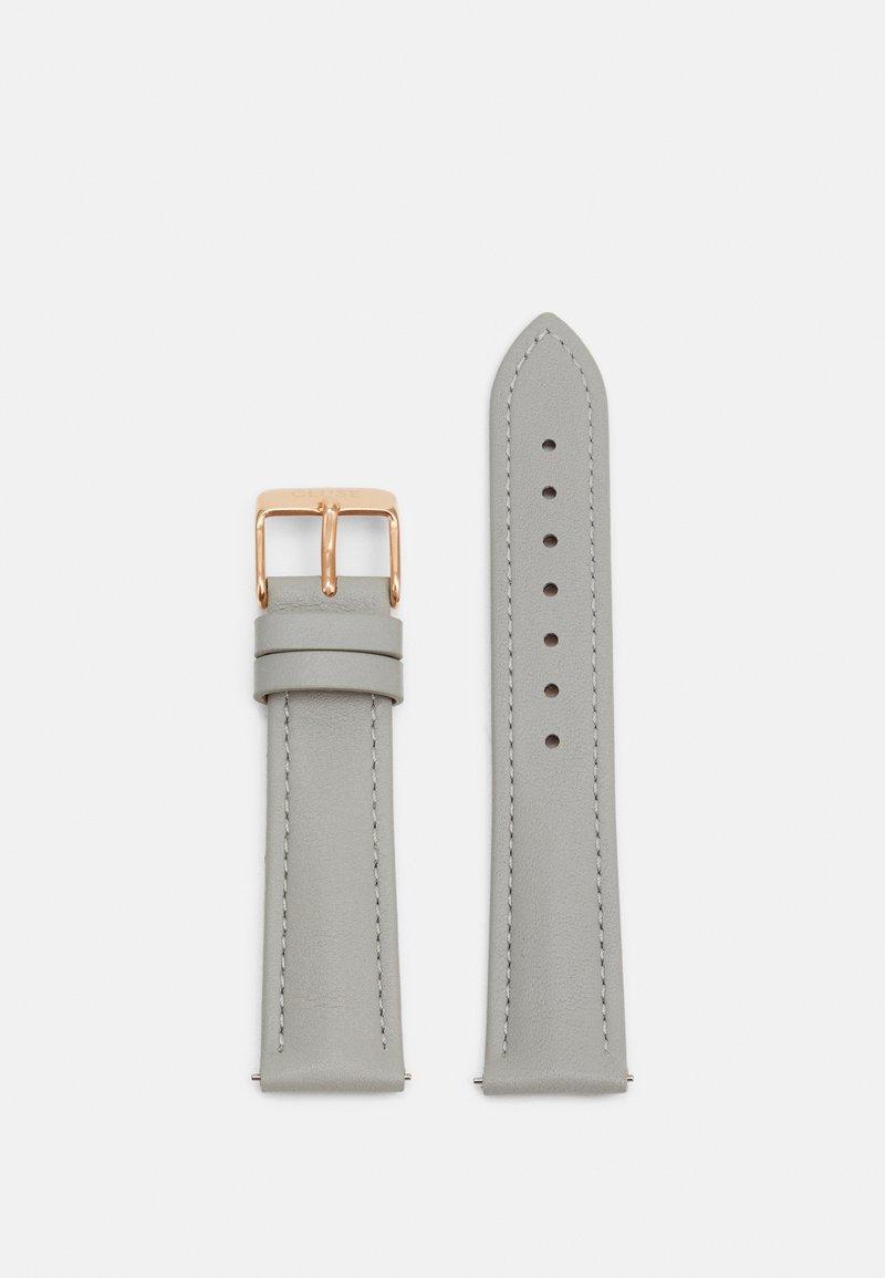 Cluse - STRAP - Příslušenství khodinkám - grey/rosegold-coloured