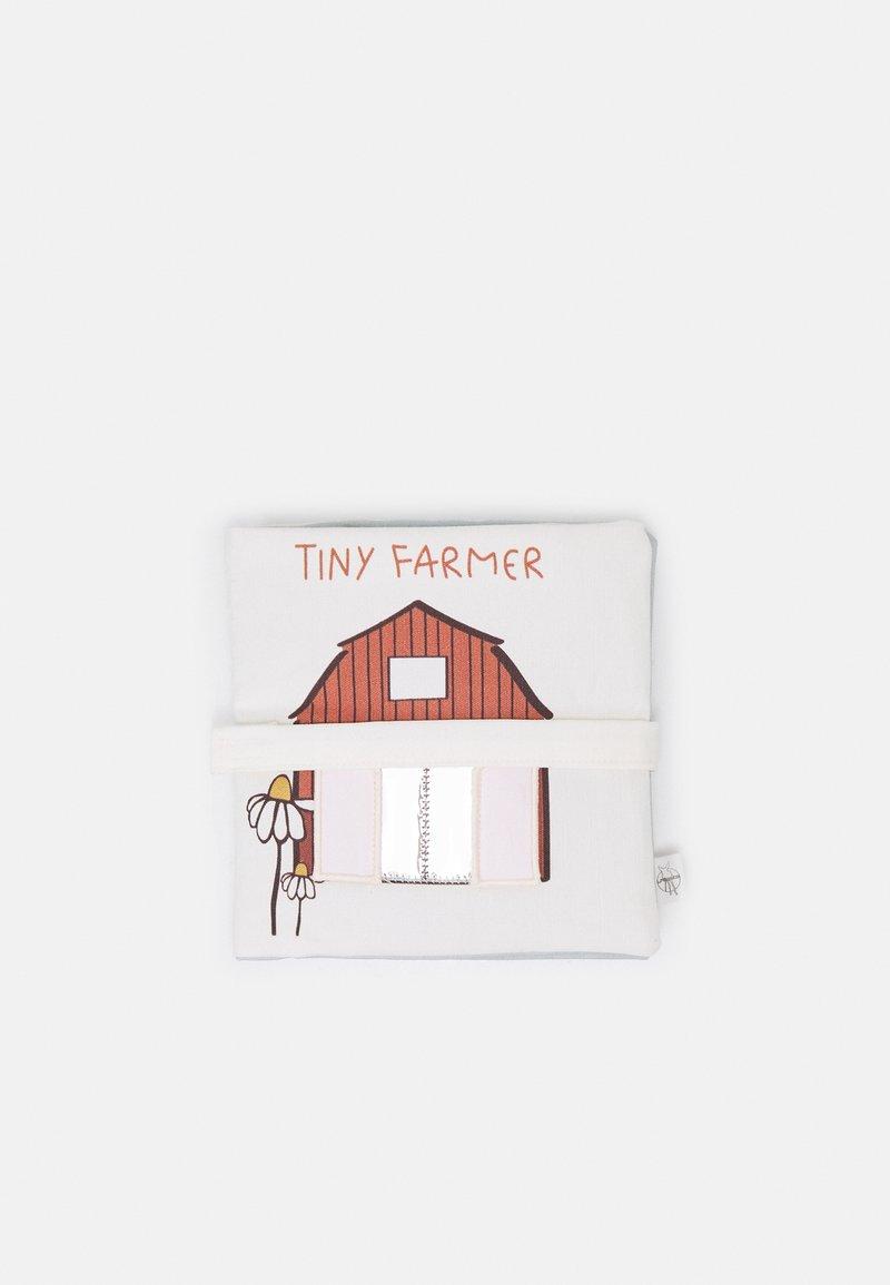 Lässig - ACTIVITY SOFT TOY BOOK TINY FARMER UNISEX - Cuddly toy - multicoloured