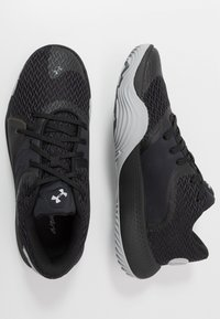 Under Armour - SPAWN 2 - Chaussures de basket - black/pitch gray - 1