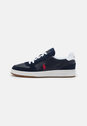 UNISEX - Matalavartiset tennarit - newport navy