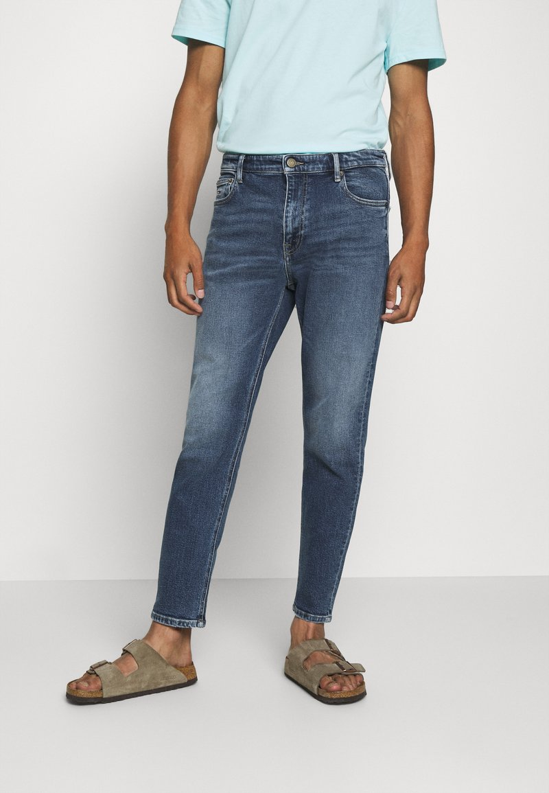 Tommy Jeans - DAD - Jeans straight leg - barton mid blue comfort