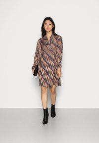 Closet - CLOSET PUFF SLEEVE DRESS - Shirt dress - teal - 1