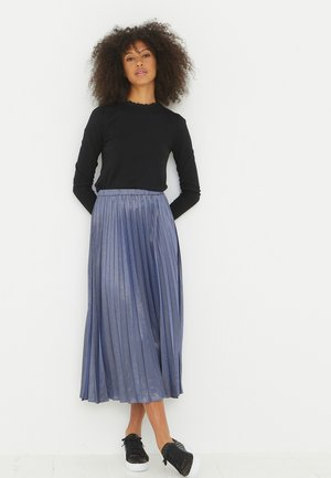 SPARKLE  - A-line skirt - blue