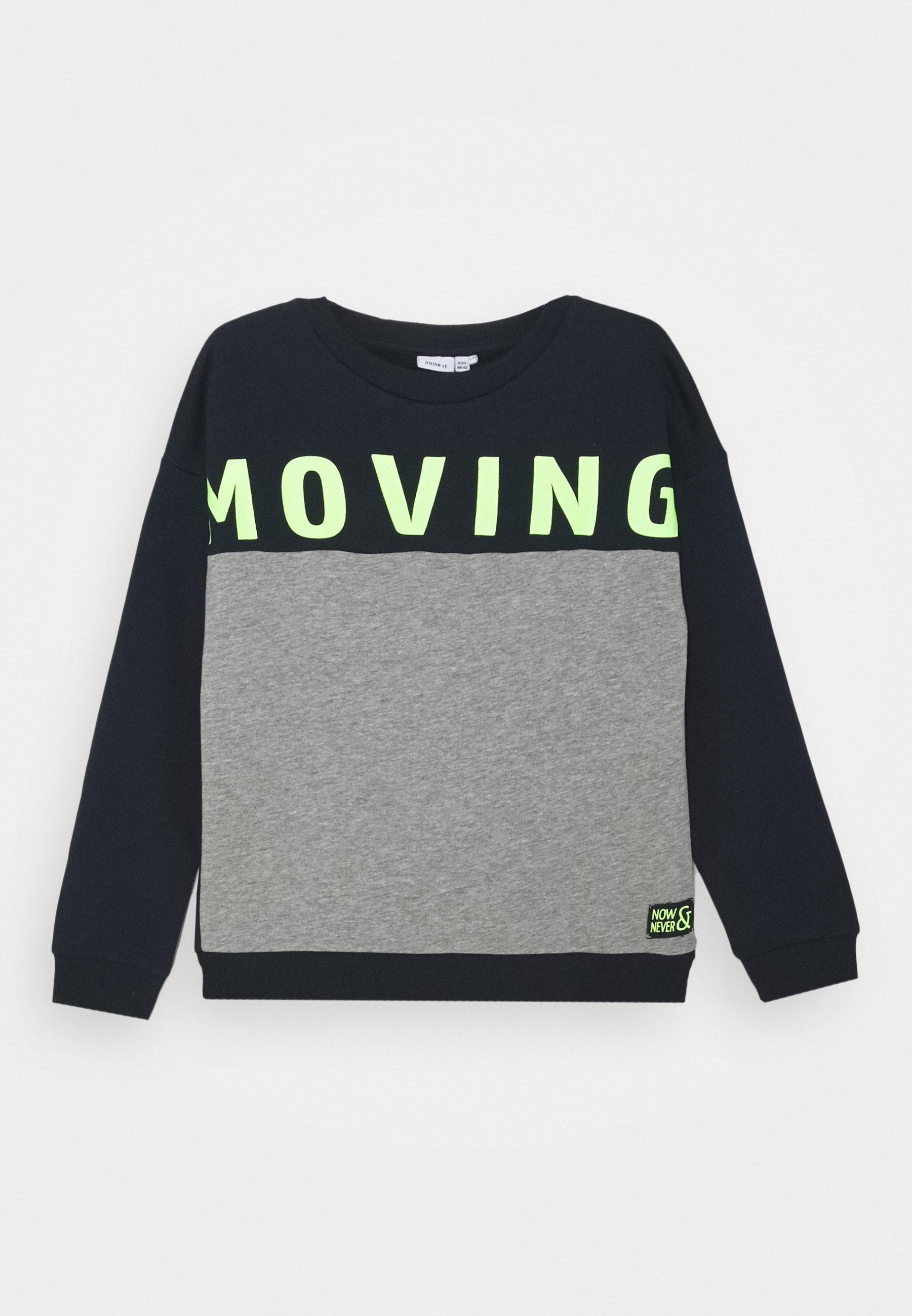 Kinder NKMLAUKE BRU CAMP - Sweatshirt