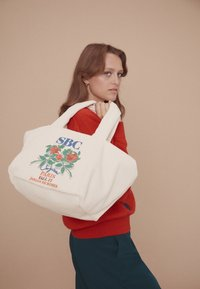See by Chloé - TILLY TOTE - Tote bag - cement beige - 5
