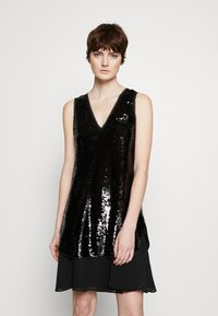 Emporio Armani - DRESS - Sukienka koktajlowa - black - 0
