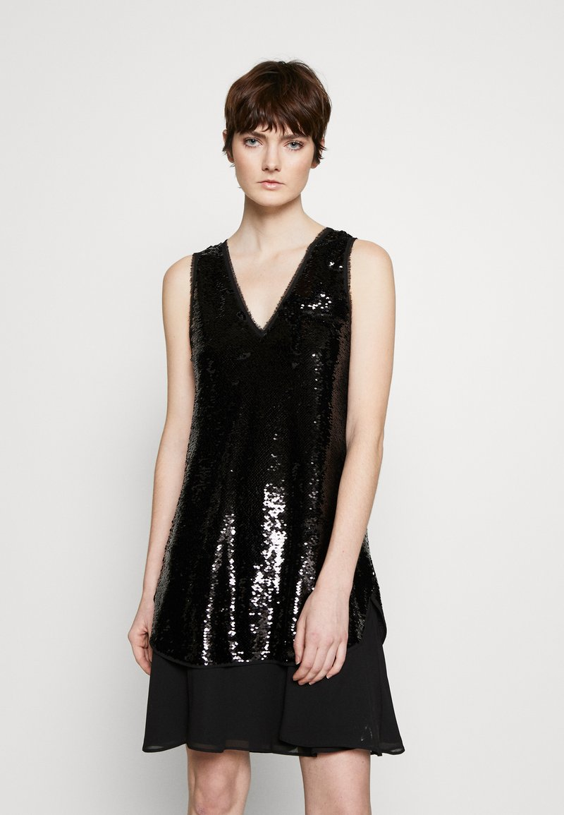 Emporio Armani - DRESS - Sukienka koktajlowa - black