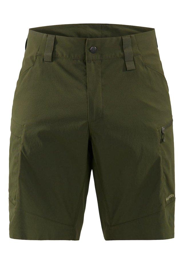 MID FJELL SHORTS - Shorts - deep woods