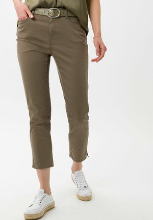 STYLE CARO  - Slim fit jeans - khaki